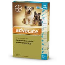 Advocate Medium Dog - 3 Pack