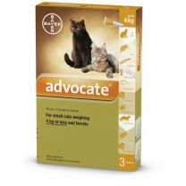 Advocate Small Cat - 3 Pack