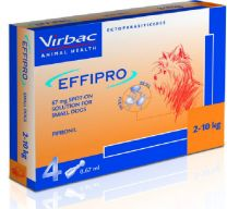 EffiPro Spot-On Small Dog - 4 Pack