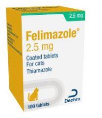 Felimazole Tablets - 2.5mg