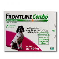 Frontline Combo Large Dog - 3 Pack