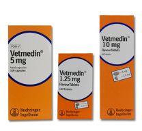 Vetmedin Chewable Tablets - 1.25mg