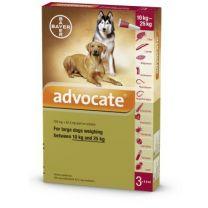 Advocate Large Dog - 3 Pack
