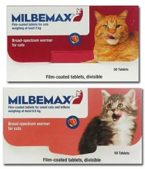 Milbemax Tablets for Small Cats and Kittens