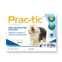 Prac-tic Spot-On for Large Dogs - 6 Pack