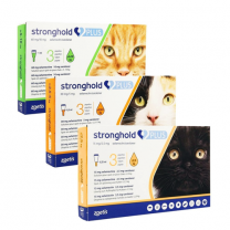 Stronghold Plus Spot-On Solution for Large Cats - 3 Pack
