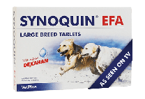 Synoquin EFA Large Breed Dog - 120 Tablets